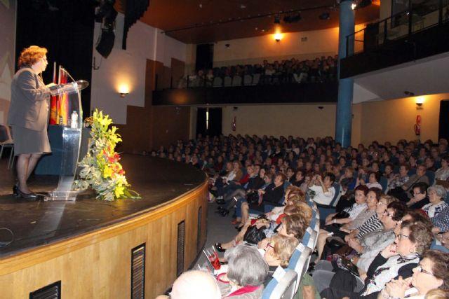 Alcantarilla acoge la XXV Asamblea de la Federación de Viudas de la Región de Murcia, sus bodas de plata - 4, Foto 4