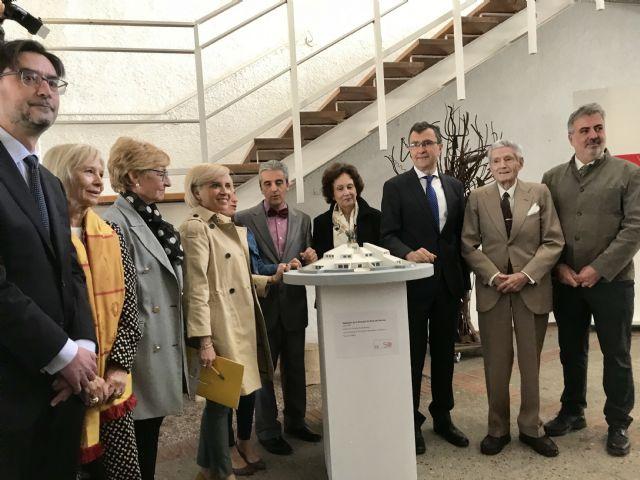 El icónico edificio de la Escuela de Arte  celebra medio siglo de vida con un homenaje a su autor, Fernando Garrido - 2, Foto 2