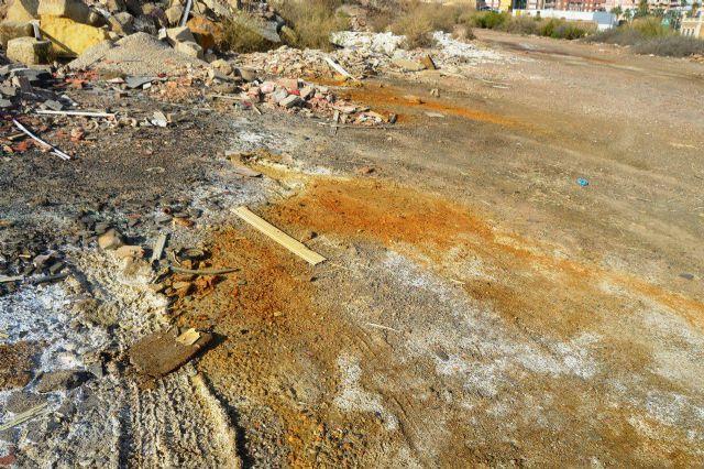 CTSSP denuncia la irresponsabilidad de las administraciones con los terrenos de El Hondón - 1, Foto 1