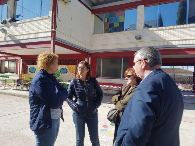 El PSOE denuncia la deplorable situación del colegio del Rosario, de Monteagudo, por la falta de inversiones desde hace décadas - 1, Foto 1