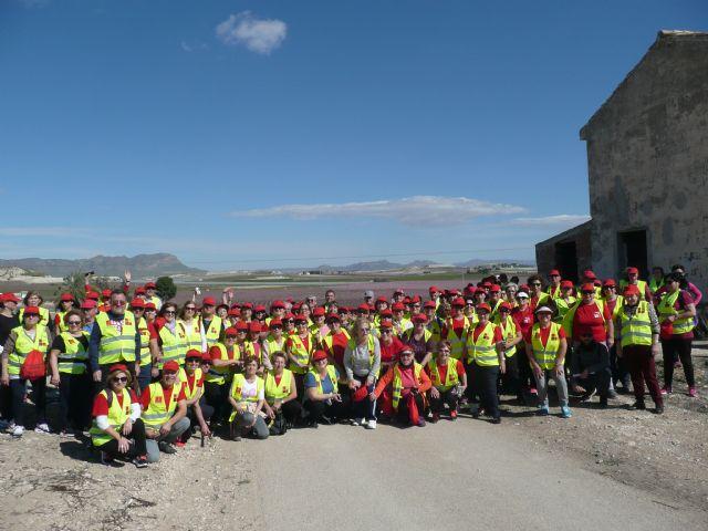 Más de 150 participantes de los Grupo 4-40 visitaron este sábado la floración de Cieza con motivo del VI encuentro que organiza el Servicio de Salud - 4, Foto 4