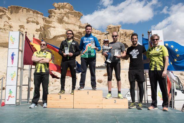 500 corredores se dieron cita en las calas de Bolnuevo para participar en el V cross trail del Club Bahía de Mazarrón, Foto 1