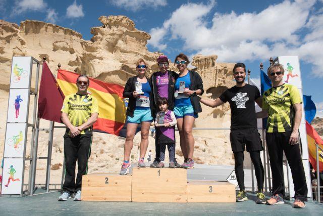 500 corredores se dieron cita en las calas de Bolnuevo para participar en el V cross trail del Club Bahía de Mazarrón, Foto 2