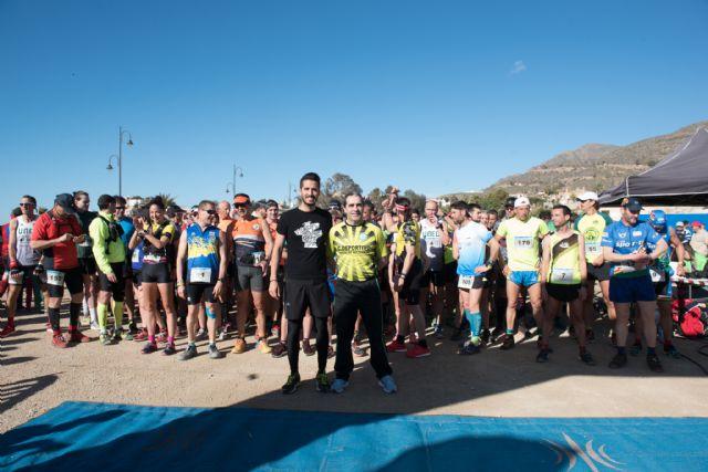 500 corredores se dieron cita en las calas de Bolnuevo para participar en el V cross trail del Club Bahía de Mazarrón, Foto 4