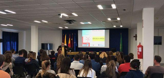 La UCAM de Cartagena abre sus primeros Encuentros de Apoyo al Paciente con la experiencia de la Fundación Jesús Abandonado - 1, Foto 1