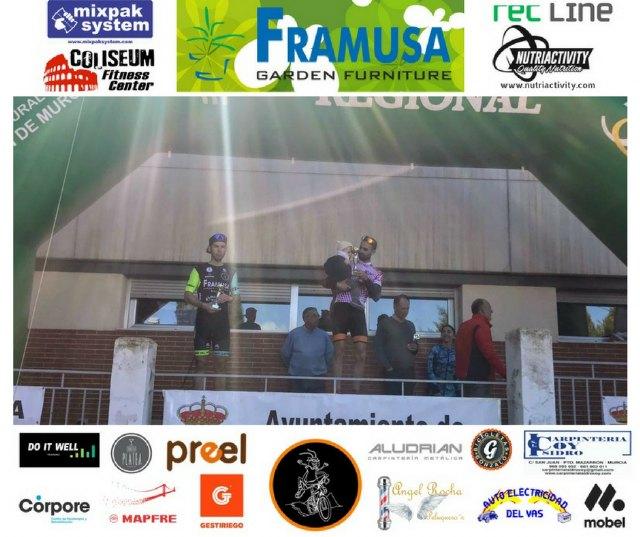 Nuevo podio de Gabri para el Framusa Saltamontes en Fuente Alamo, Foto 3
