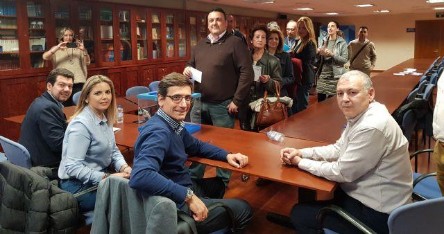 López Miras obtiene el 90,91 % de los votos y Garre Izquierdo el 7,99 % - 1, Foto 1
