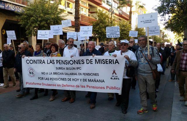 Ganar Totana pide el apoyo a las movilizaciones de los pensionistas a través de una moción que elevará al pleno de marzo, Foto 2