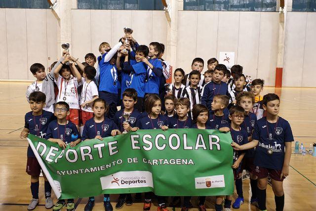 Los más jóvenes de fútbol sala se preparan para representar a Cartagena en los cuartos de final regionales - 1, Foto 1