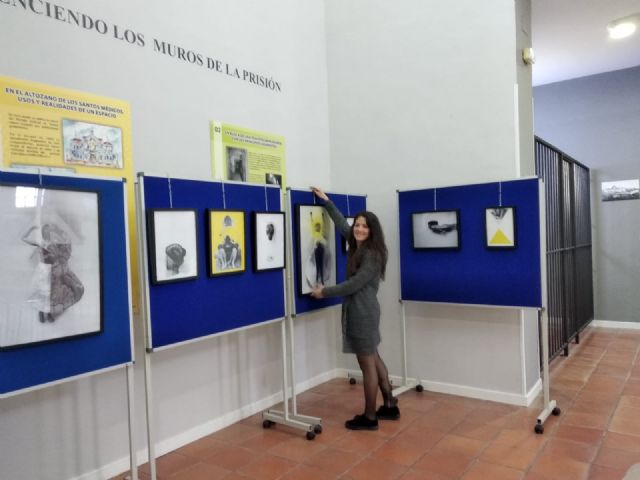 "Continues until March 29, in ""La Cárcel"", the exhibition of works of the artistic project ""Reflections about the body as a place for art"", by Virginia Martínez - 1"