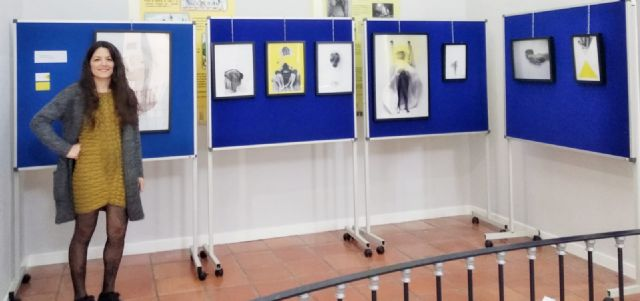 Continúa hasta el 29 de marzo, en La Cárcel, la exposición de obras del proyecto artístico Reflexiones acerca del cuerpo como lugar para el arte, de Virginia Martínez, Foto 2