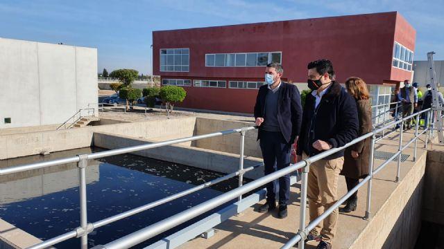 La Comunidad invertirá 4 millones de euros para mejorar la depuradora de San Javier que contará con un nuevo tanque de tormentas - 1, Foto 1
