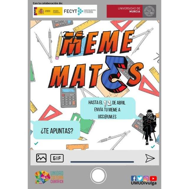 Descubre la cara más divertida de las Matemáticas en la I edición del concurso Mememates de la UMU - 1, Foto 1