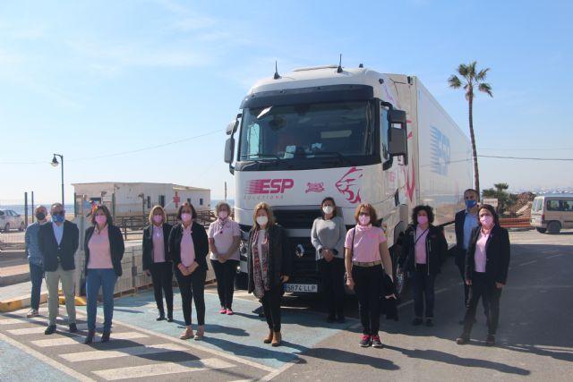 Un camión llevará por toda Europa la imagen de la asociación contra el cáncer de mama Flamenco Rosa - 2, Foto 2