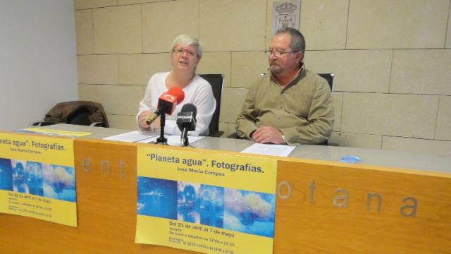 """The totanero priest José María Campos organizes the photography exhibition """"Planeta agua"""" to raise awareness about the scarcity and good use of this good and the need to advocate for the social justice of this resource, Foto 2"""