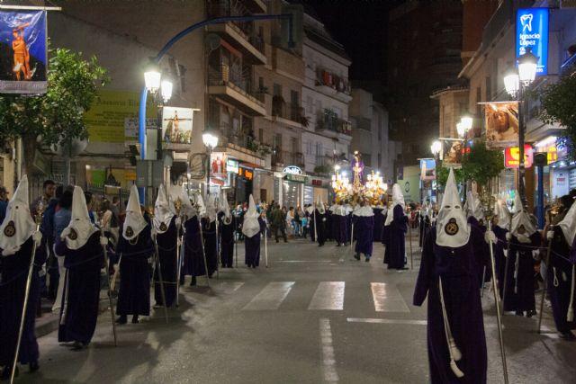 La procesión del Cristo del Perdón llenó las calles de Archena de las primeras emociones de esta Semana Santa - 1, Foto 1
