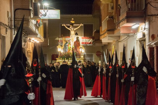 La procesión del Cristo del Perdón llenó las calles de Archena de las primeras emociones de esta Semana Santa - 2, Foto 2