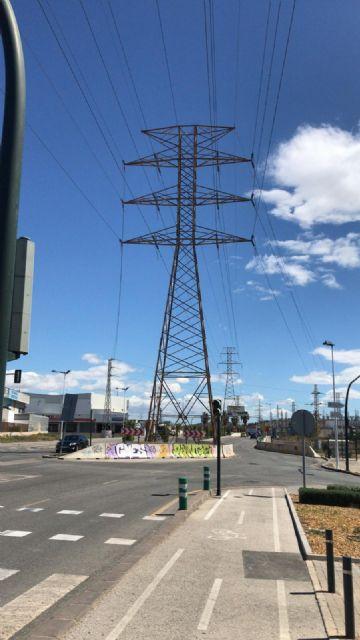 El pedáneo de El Puntal lamenta que el PP siga dando la espalda a los vecinos de Los Rectores con el soterramiento de las torres eléctricas - 1, Foto 1