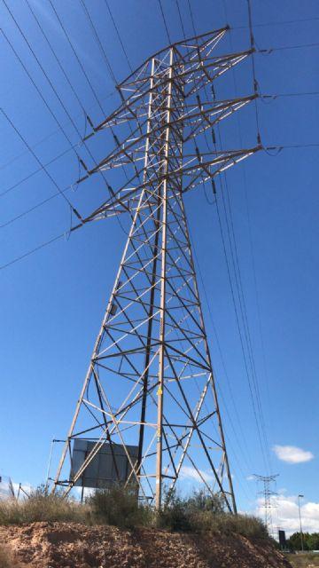 El pedáneo de El Puntal lamenta que el PP siga dando la espalda a los vecinos de Los Rectores con el soterramiento de las torres eléctricas - 2, Foto 2