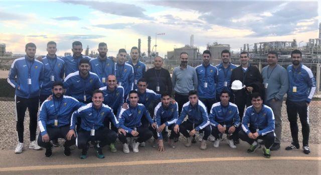 El equipo EF La Aljorra-SABIC visita el complejo industrial de la compañía - 2, Foto 2