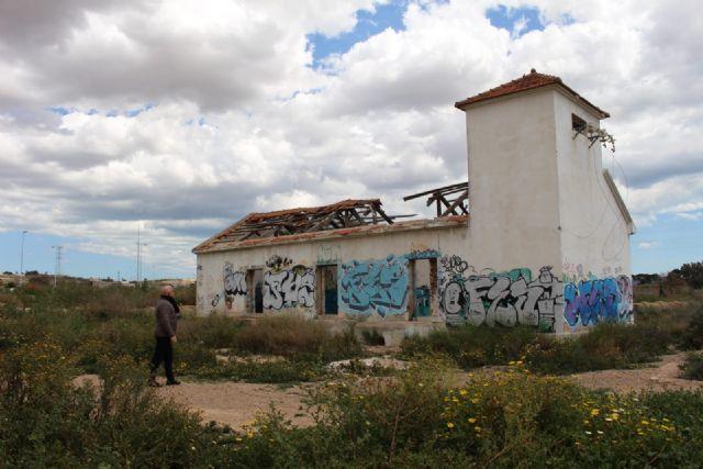 Cs denuncia que no se ha vallado ni demolido la antigua depuradora de Barrio Peral para evitar daños y accidentes - 1, Foto 1