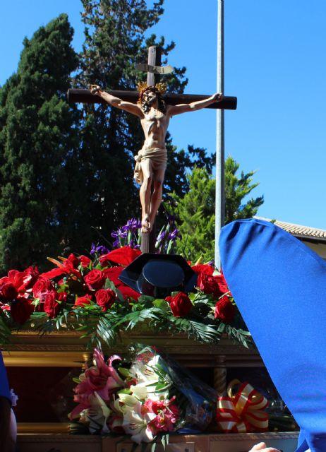 La Guardia Civil escolta el paso del Cristo del Amor en su procesión del Viernes de Dolores 2019 - 1, Foto 1