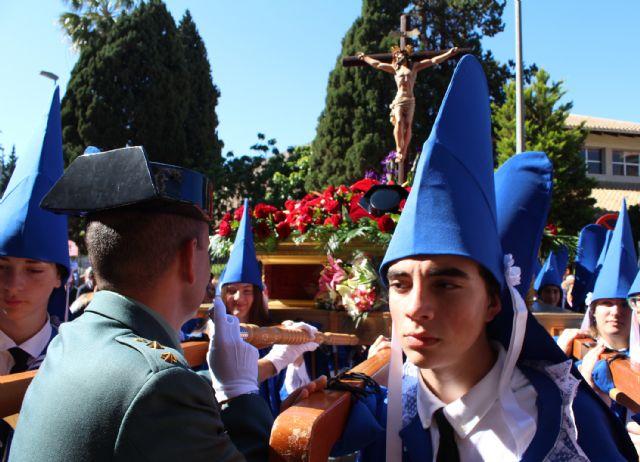 La Guardia Civil escolta el paso del Cristo del Amor en su procesión del Viernes de Dolores 2019 - 2, Foto 2