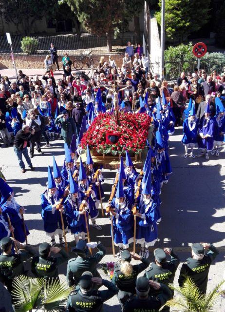 La Guardia Civil escolta el paso del Cristo del Amor en su procesión del Viernes de Dolores 2019 - 3, Foto 3