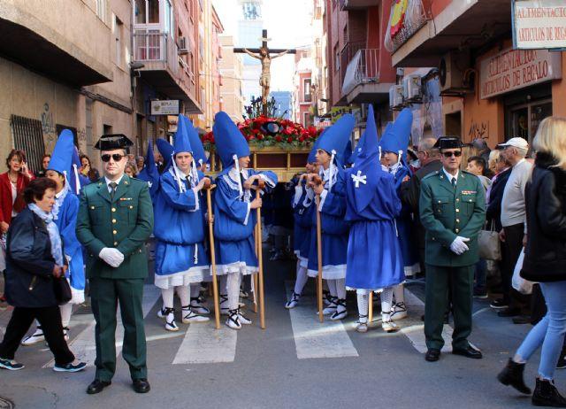 La Guardia Civil escolta el paso del Cristo del Amor en su procesión del Viernes de Dolores 2019 - 4, Foto 4