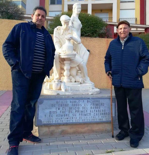 El Ayuntamiento efectuará un reconocimiento público a la familia de alfareros Tudela, que representa la séptima generación de este oficio en Totana, Foto 3