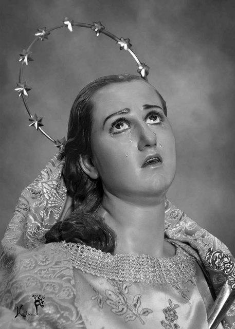 La Virgen de los Dolores de Las Torres de Cotillas representa una muestra del renacimiento de la escultura religiosa murciana de la mano de González Moreno - 1, Foto 1
