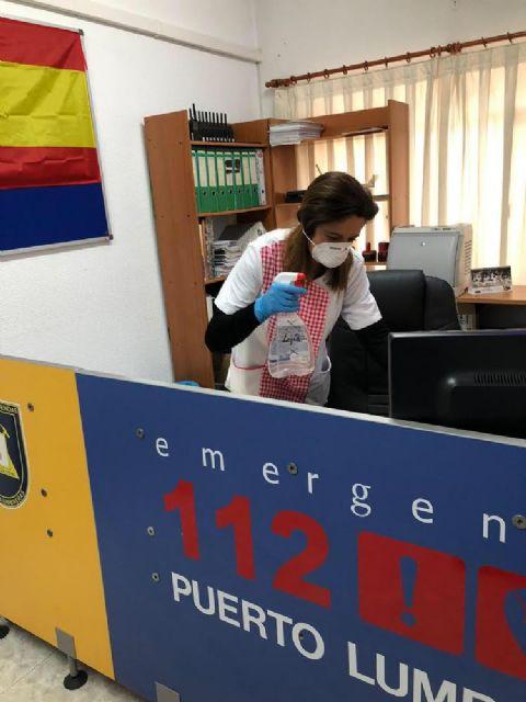 El Ayuntamiento de Puerto Lumbreras distribuirá 4.000 mascarillas entre los trabajadores del municipio, proporcionadas por la Delegación del Gobierno - 2, Foto 2