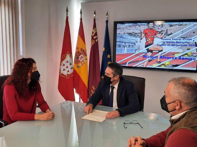 La triatleta Miriam Álvarez recibirá el Premio Fausto Vicent al Mérito Deportivo Ciudad de Alcantarilla 2020 - 1, Foto 1