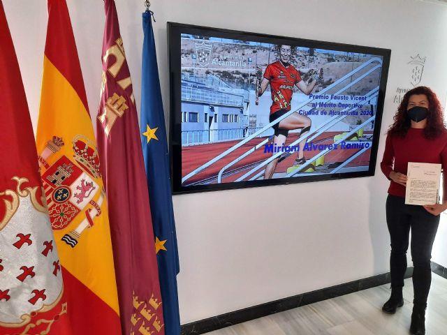 La triatleta Miriam Álvarez recibirá el Premio Fausto Vicent al Mérito Deportivo Ciudad de Alcantarilla 2020 - 2, Foto 2