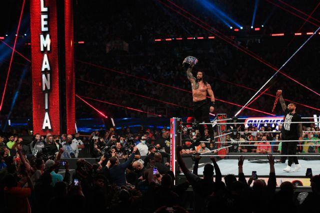 Roman Reigns retiene el Campeonato Universal en WrestleMania 37 derrotando a Edge y Bryan - 1, Foto 1