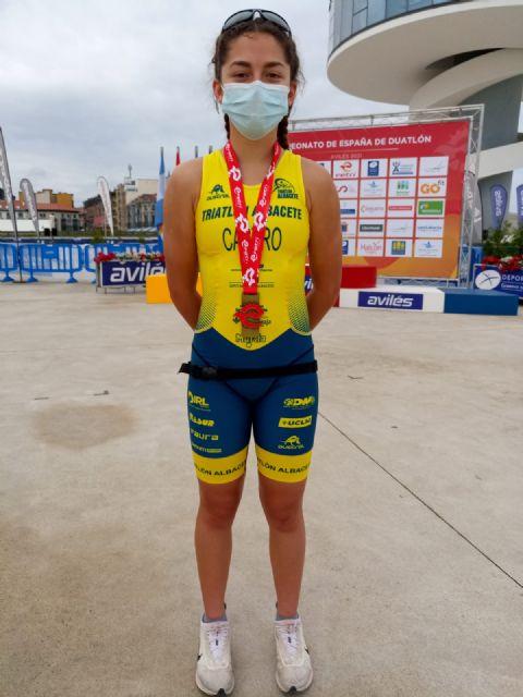 Eva Sánchez Castro se proclama Campeona de España de Duatlón Cadete en Avilés - 1, Foto 1