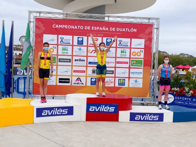 Eva Sánchez Castro se proclama Campeona de España de Duatlón Cadete en Avilés - 2, Foto 2