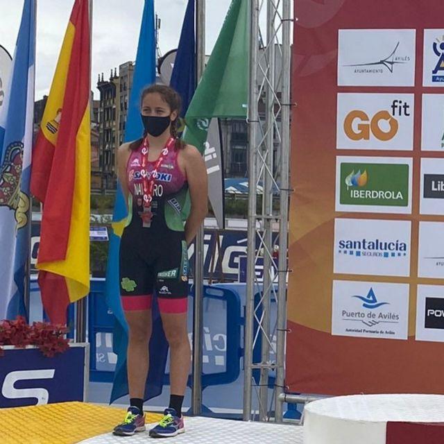 Eva Sánchez Castro se proclama Campeona de España de Duatlón Cadete en Avilés - 3, Foto 3