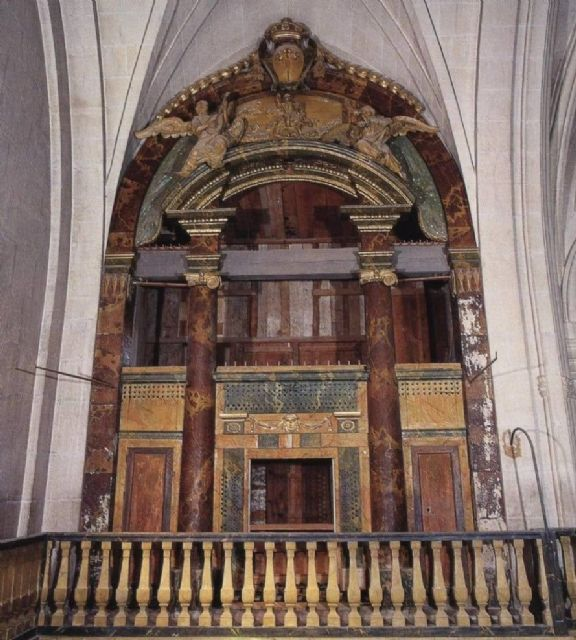 Somos Región pide mayor financiación pública para la reconstrucción del órgano de la Iglesia de Santiago de Jumilla - 1, Foto 1