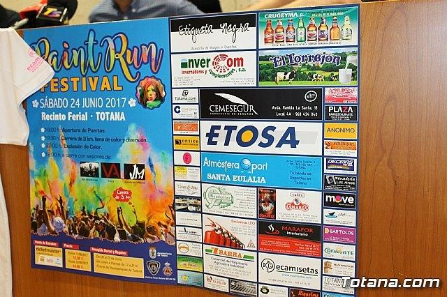 """El """"Paint Run Festival"""" se celebrará, por vez primera en Totana, el sábado 24 de junio, en el recinto ferial, Foto 3"""