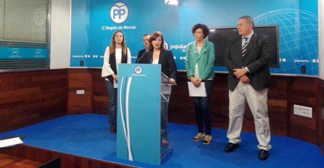 El GPP en el Senado demanda más recursos hídricos para el municipio de Puerto Lumbreras - 1, Foto 1