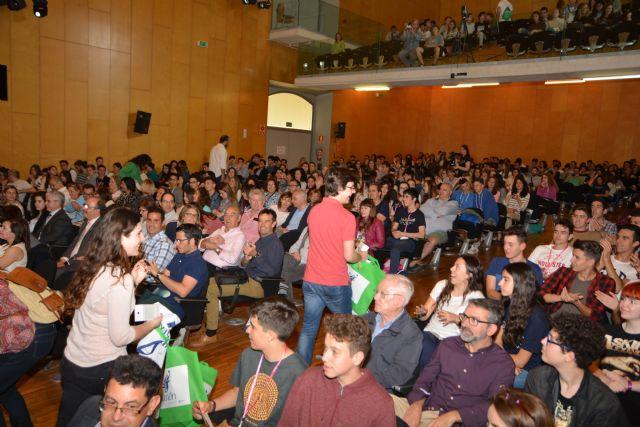 Un alumno de Murcia y una estudiante de Cartagena ganan el concurso 'Rétame y Aprendo' en la Politécnica - 2, Foto 2