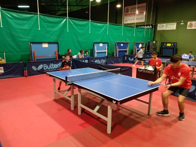 Campeonato autonomico equipos veteranos. Tenis de mesa