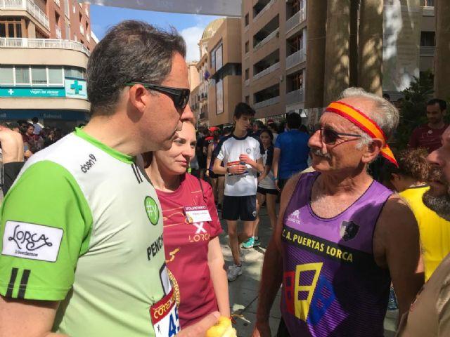 Fulgencio Gil adelanta que Lorca recuperará su propia prueba de Maratón el próximo año como evento dinamizador que ratificará nuestra capitalidad deportiva - 1, Foto 1