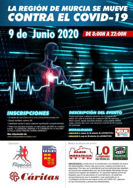 El 9 de junio, día de fiesta deportiva y solidaria en la Región de Murcia - 1, Foto 1