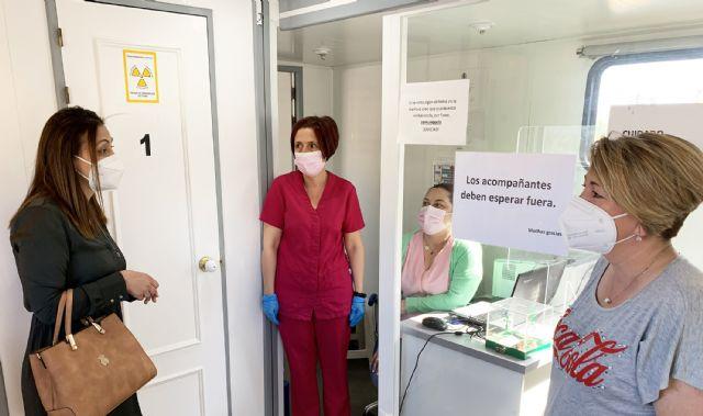 Comienzan en Las Torres de Cotillas las pruebas de prevención del cáncer de mama para 1.600 mujeres - 1, Foto 1