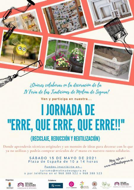 La Concejalía de Artesanía de Molina de Segura organiza la I Jornada ERRE, QUE ERRE, QUE ERRE!! el sábado 15 de mayo - 1, Foto 1