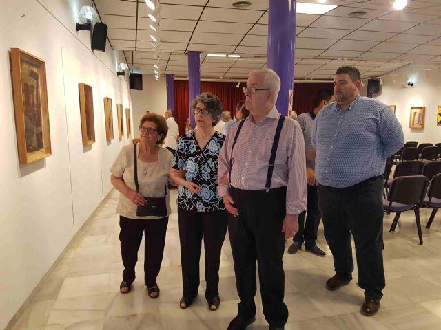 La sala de exposiciones de la Casa de la Cultura lleva el nombre de Antonio Martínez Torres, Foto 2