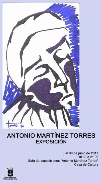 La sala de exposiciones de la Casa de la Cultura lleva el nombre de Antonio Martínez Torres, Foto 3