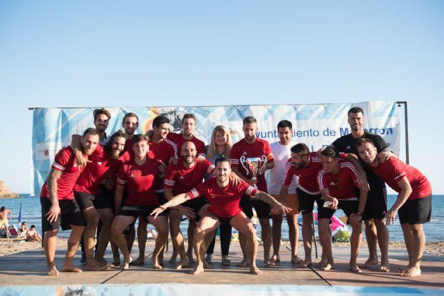 Los alicantinos del Vodka JRS repiten victoria en el torneo de fútbol playa Bahía de Mazarrón, Foto 2